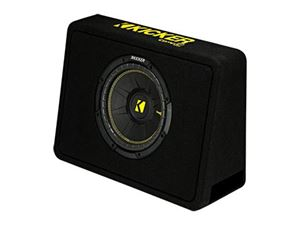 Picture of Kicker CompC ported wedge enclosure